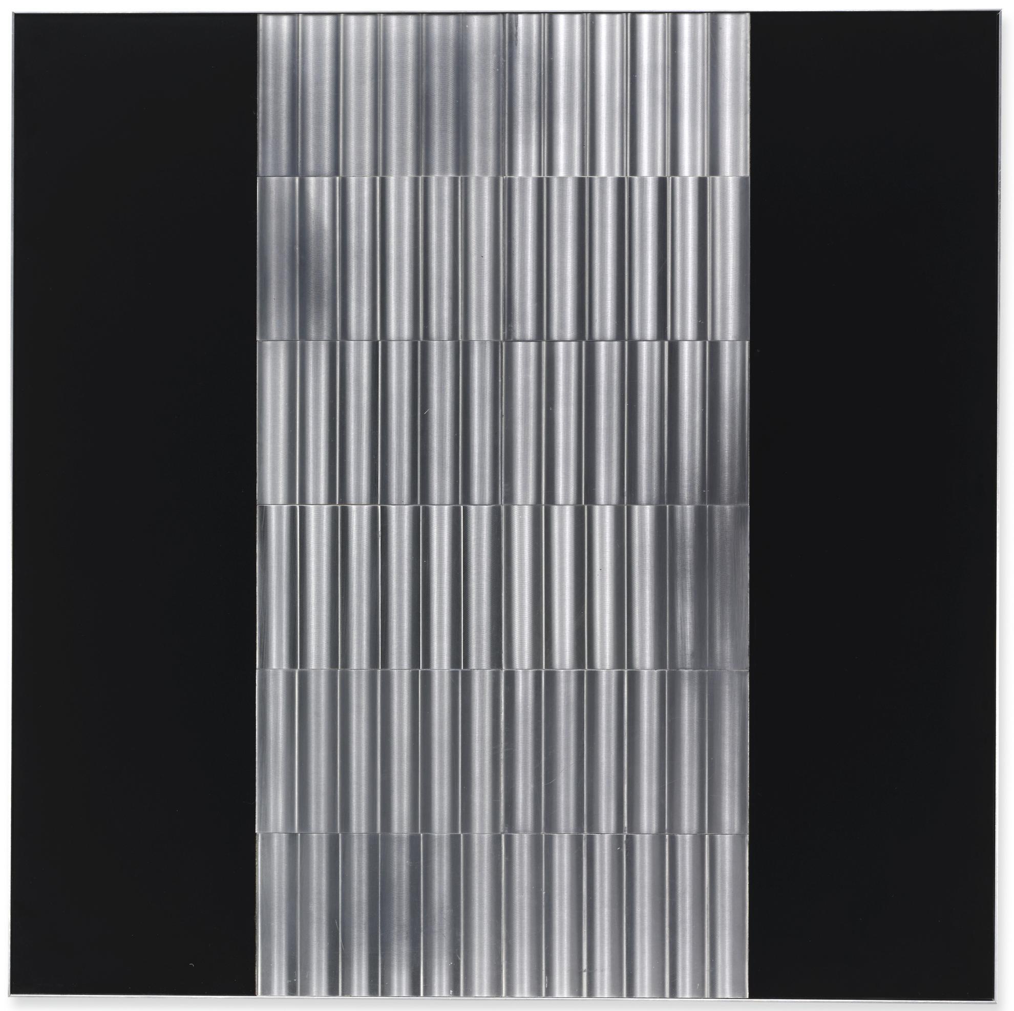 Getulio Alviani-Superficie A Testura Vibratile-1971