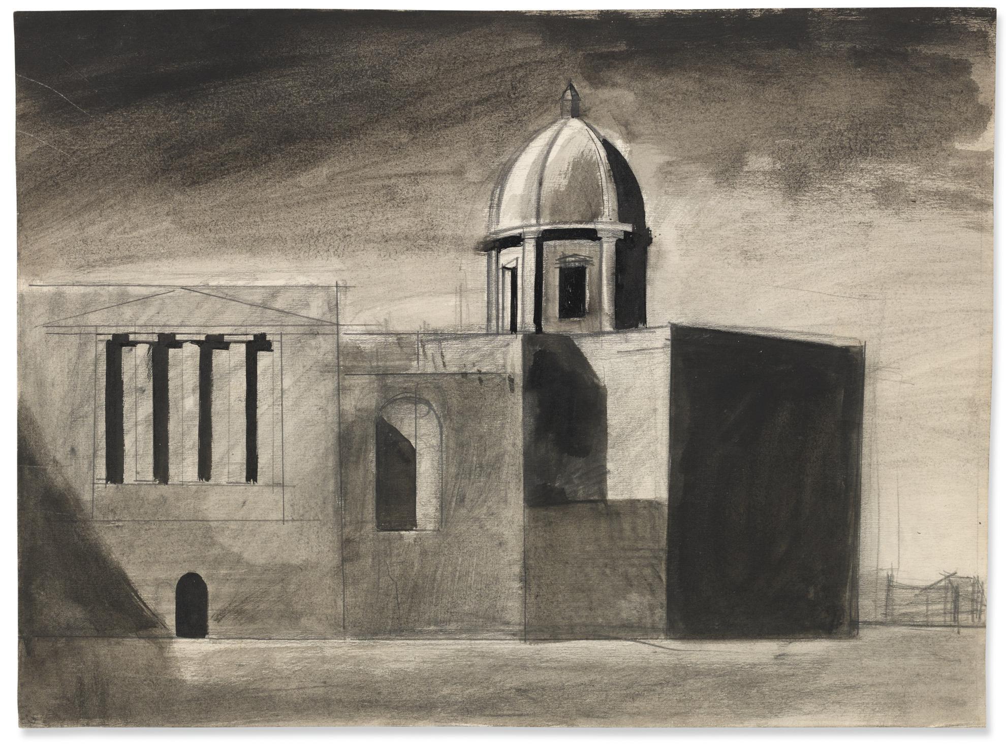 Mario Sironi-Composizione - Architettura Urbana-1925