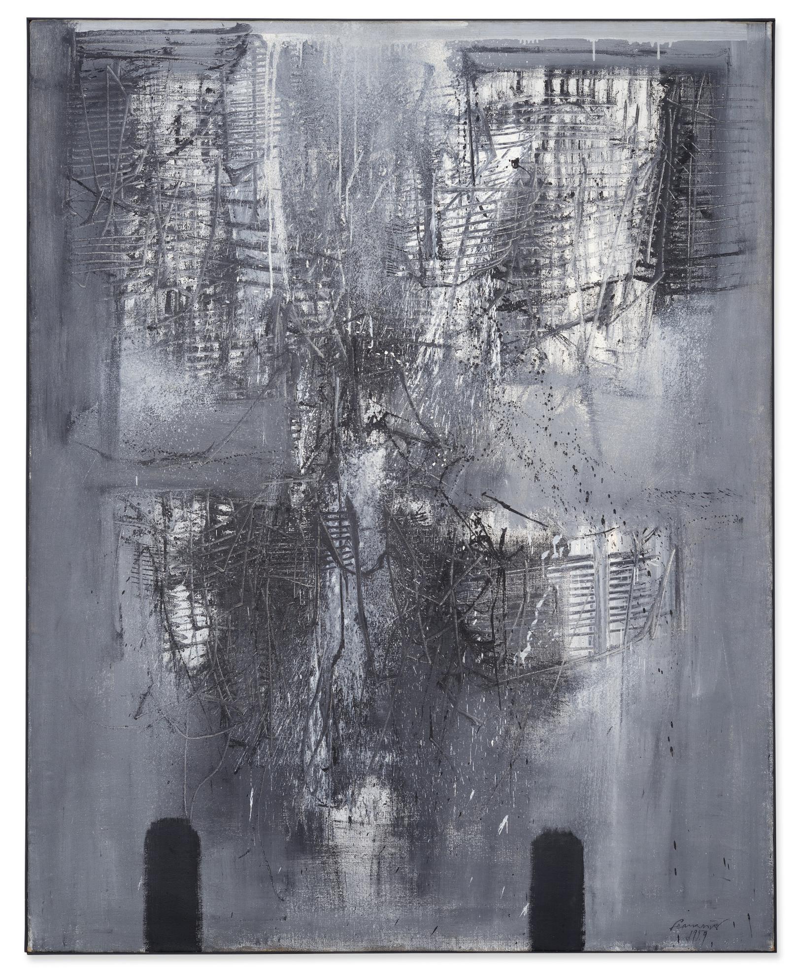 Emilio Scanavino-Senza Titolo-Immagine-1959