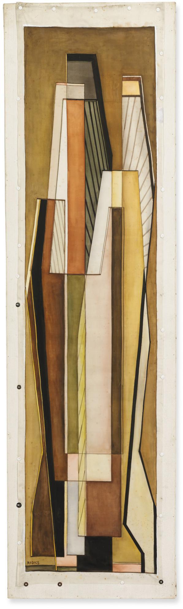 Mario Radice-Composizione R. S.-1961
