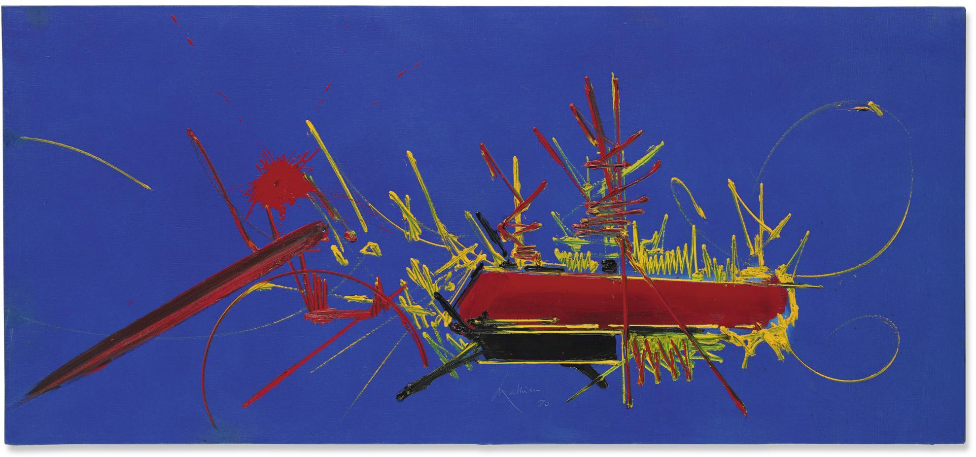 Georges Mathieu-Lignon-1970