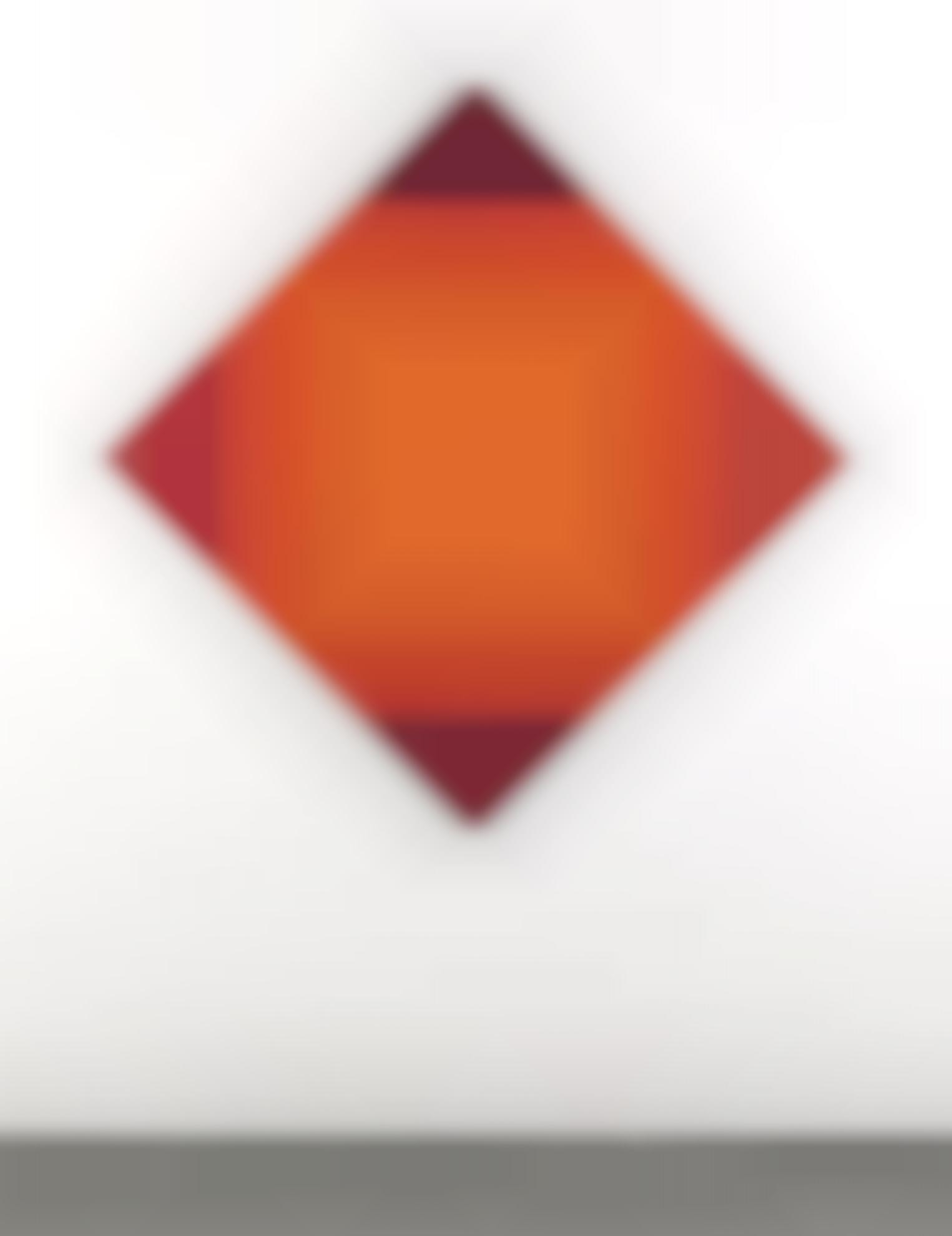 Max Bill-Rote Strahlung (Irradiazione Rossa)-1972