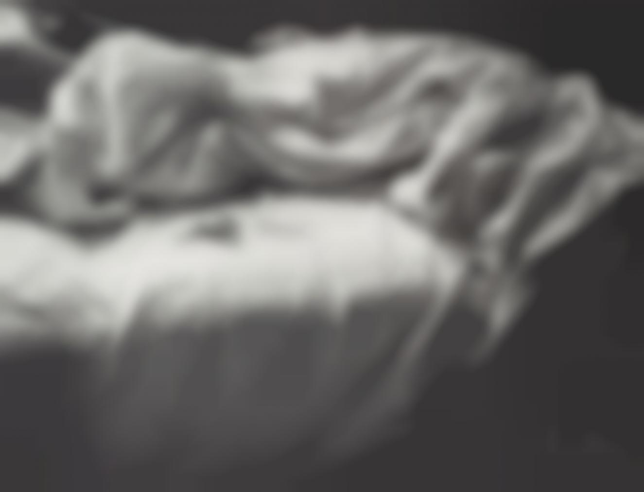 Imogen Cunningham-Unmade Bed-1957