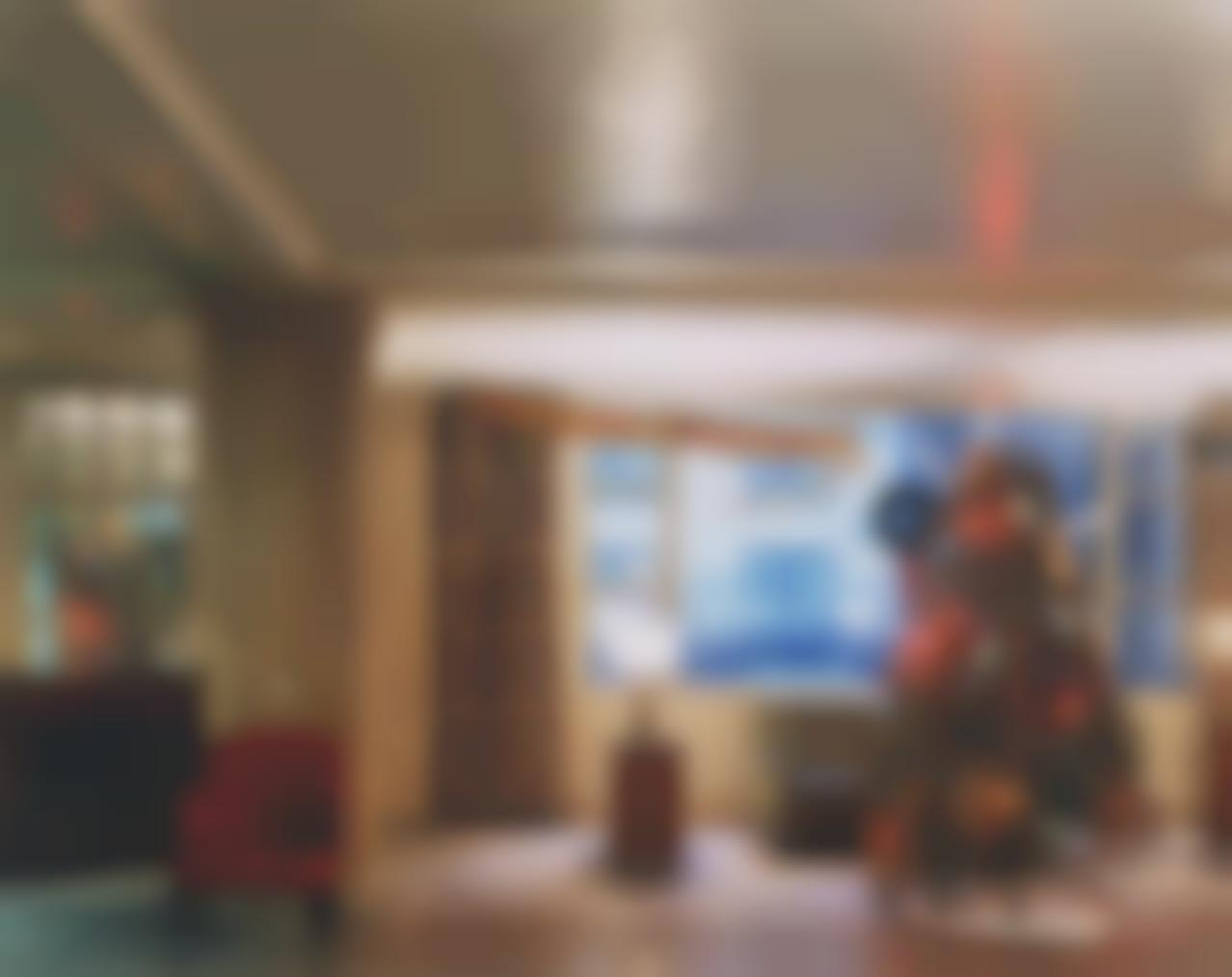 Joel Meyerowitz-Christmas Tree In Lobby, New York City-1977