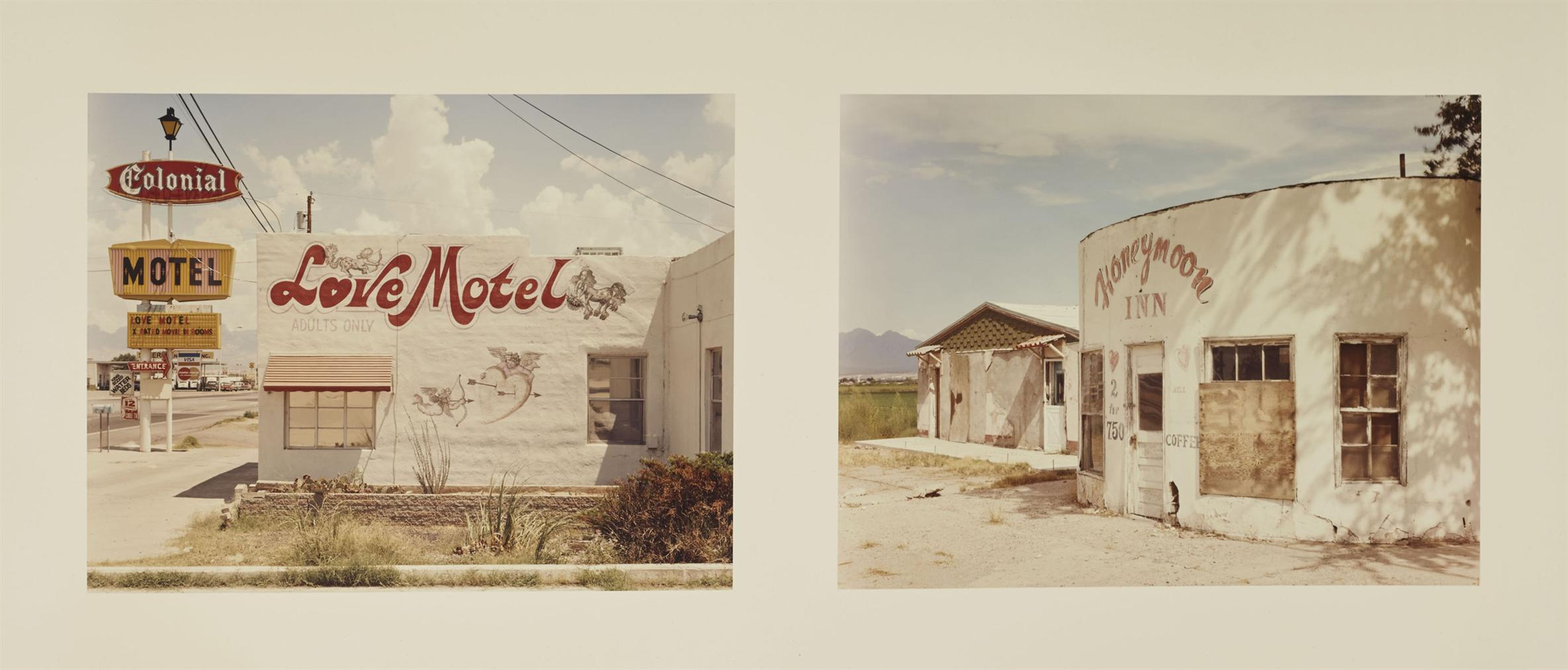 Joel Sternfeld-Two Motels In Las Cruces, New Mexico, Aout 1986-1986