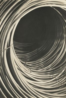 Margaret Bourke-White-Copper Wire Spool, Rome Wire Corporation, New York-1929