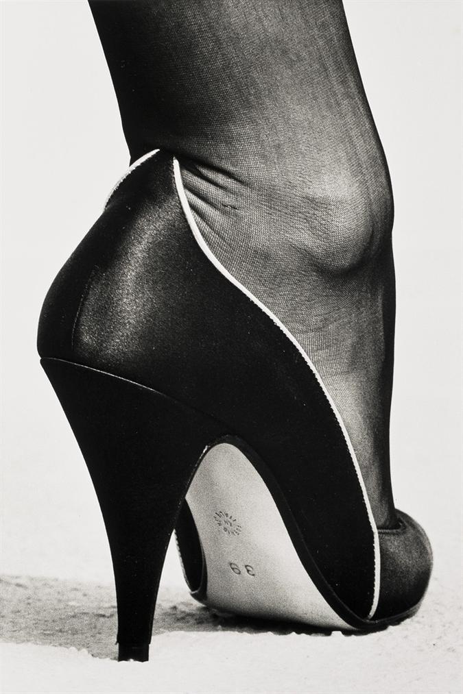 Helmut Newton-Shoe, Monte Carlo-1983