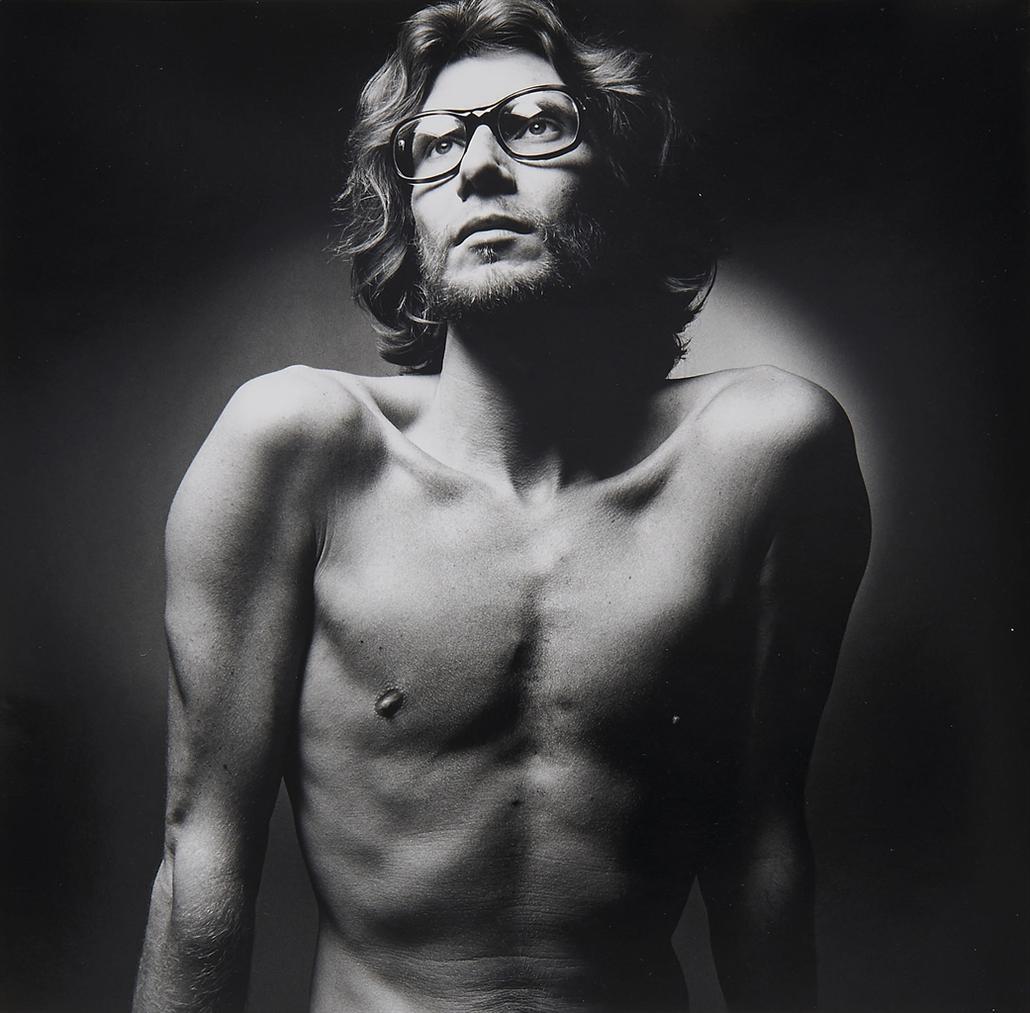 Jeanloup Sieff-Yves Saint Laurent, Paris-1971