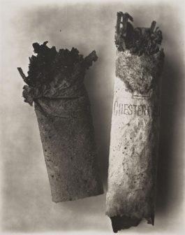 Irving Penn-Cigarette #34-1974