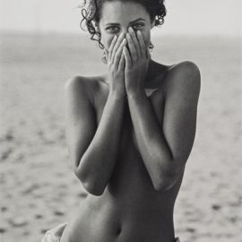 Peter Lindbergh-Christy Turlington, Los Angeles, American Vogue-1988