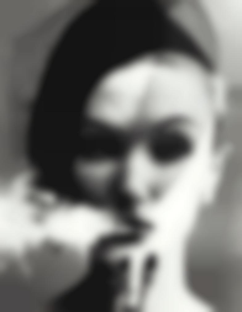 William Klein-Smoke + Veil, Paris, Vogue-1958