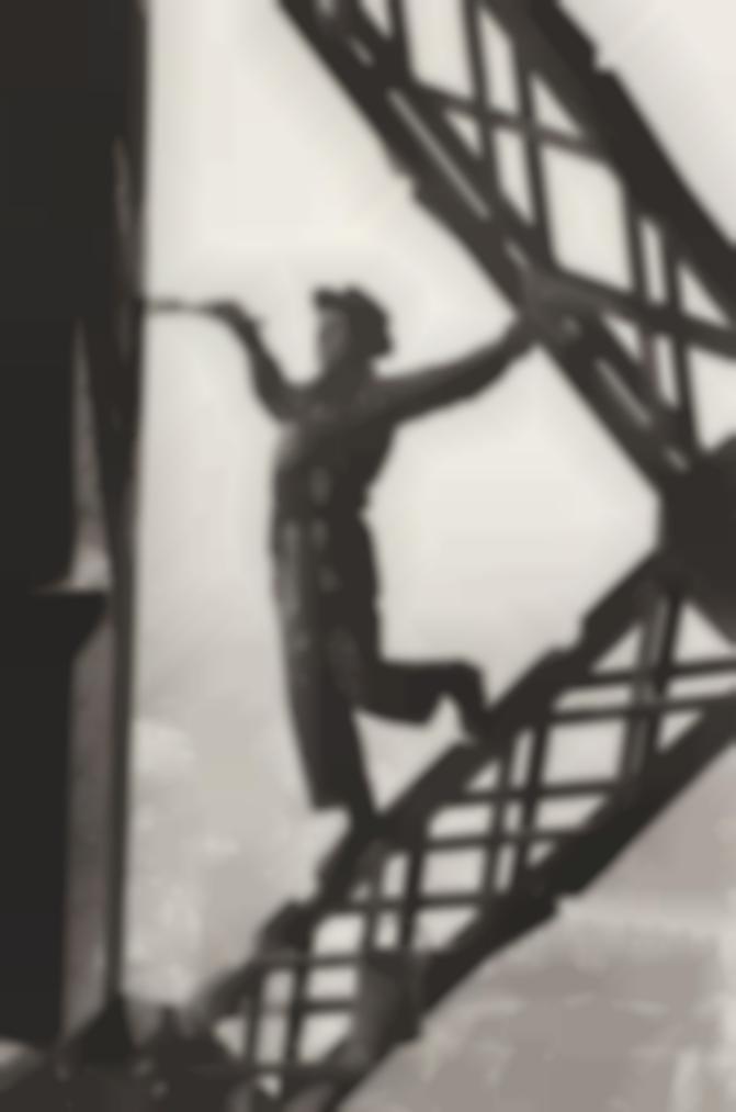 Marc Riboud-Le Peintre De La Tour Eiffel, Paris-1953