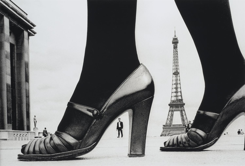 Frank Horvat-Shoe + Eiffel Tower (D), Paris-1974
