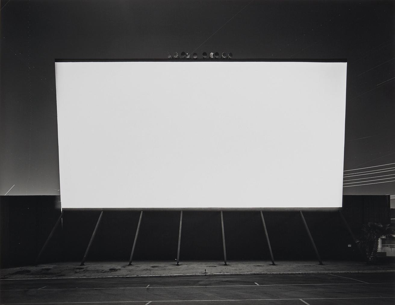 Hiroshi Sugimoto-Simi Valley Drive-In-1993