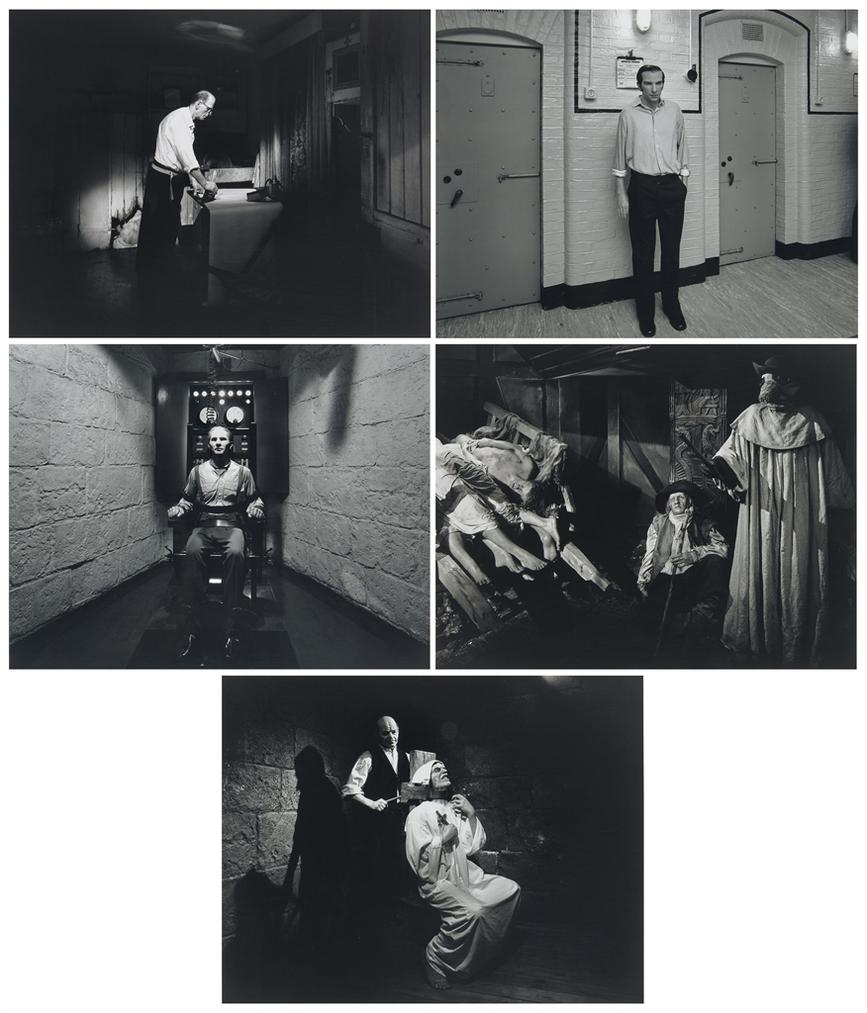 Hiroshi Sugimoto-The St. Albans Poisoner - Mass Murderer And Sexual Psychopath - The Electric Chair - The Garrotte - The Plague-1994
