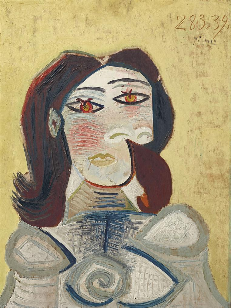 Pablo Picasso-Buste De Femme (Dora Maar)-1939