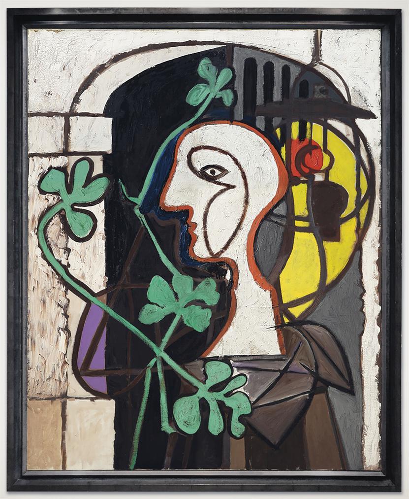 Pablo Picasso-La Lampe-1931