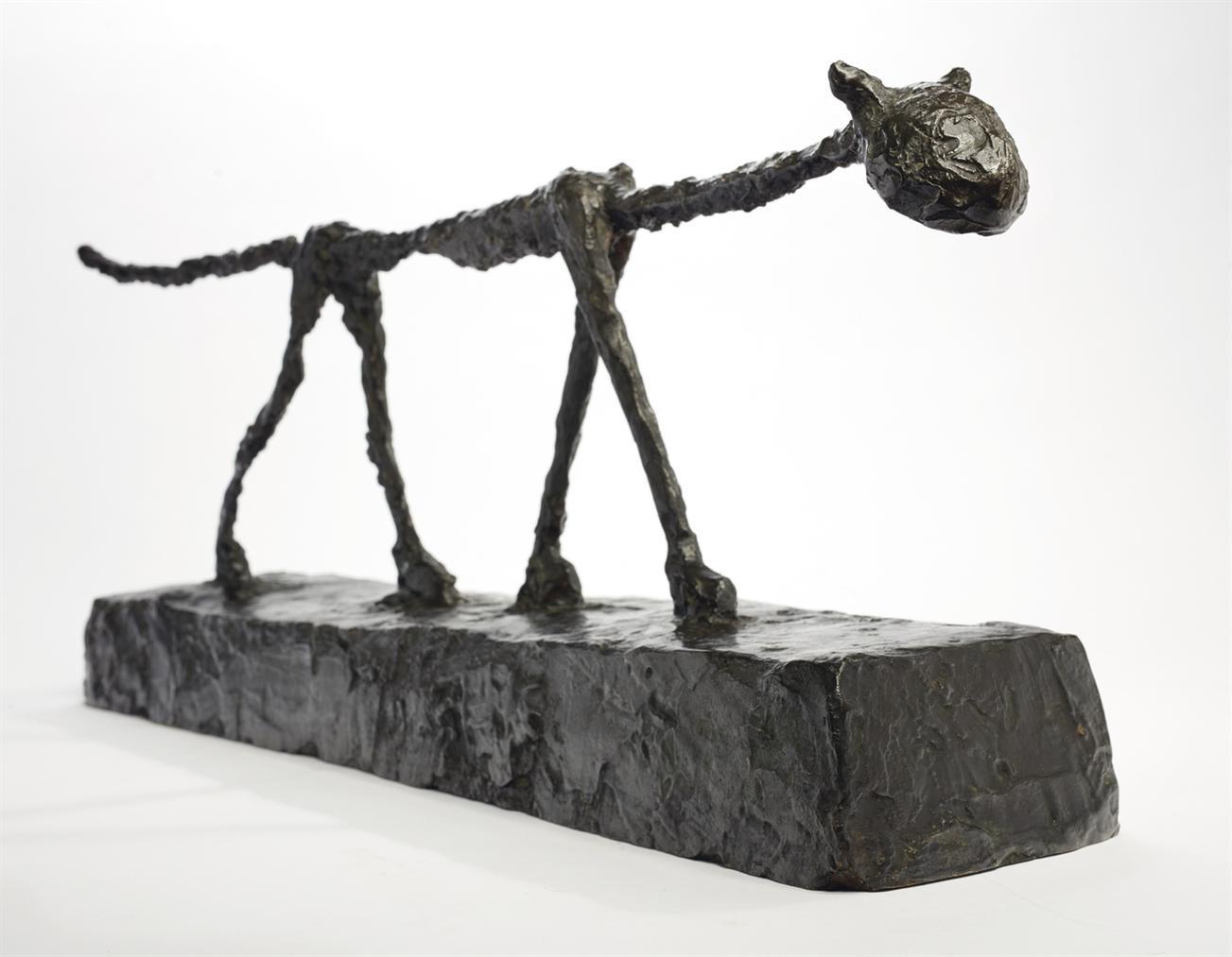 Alberto Giacometti-Le Chat-1951
