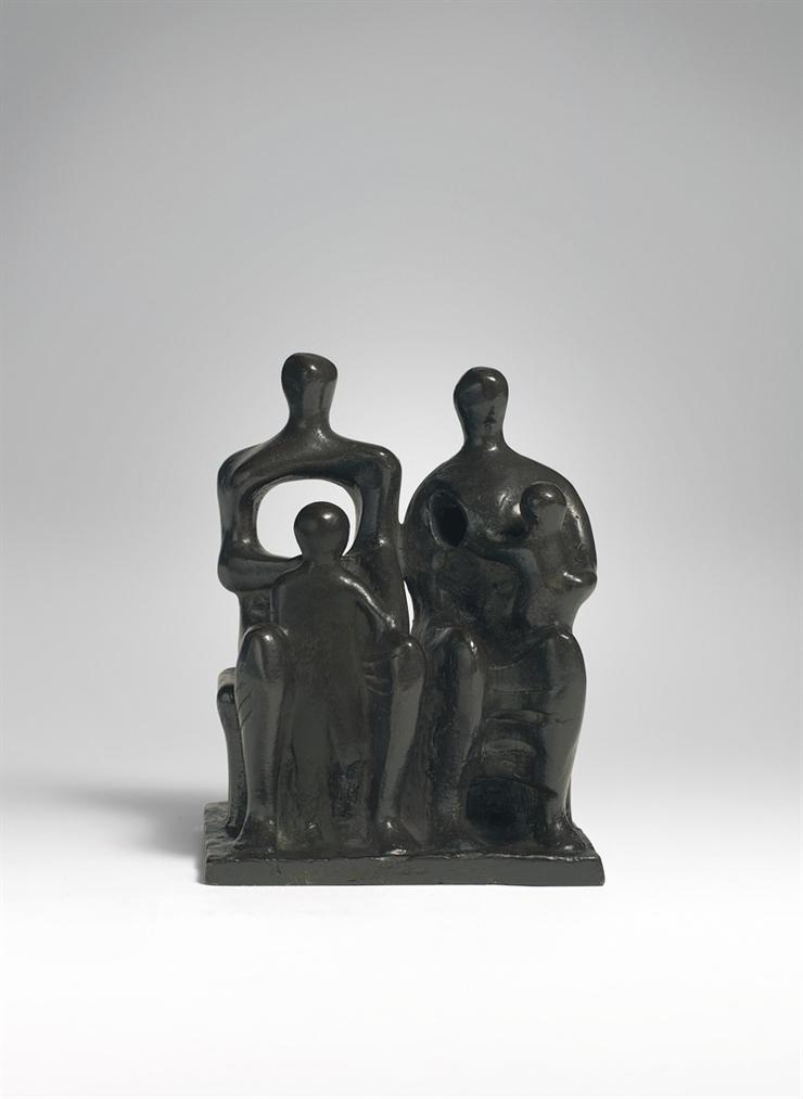 Henry Moore-Family Group-1957