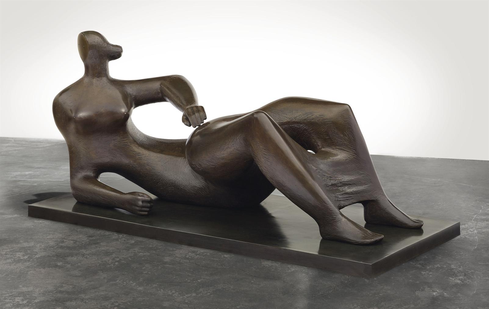 Henry Moore-Reclining Figure-1982