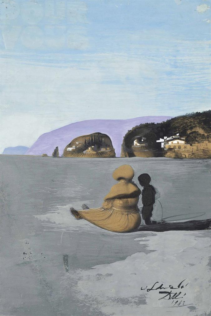 Salvador Dali-Ladolescence-1941
