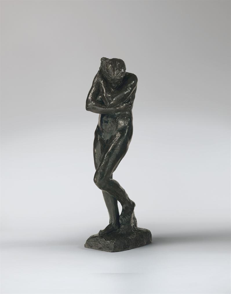 Auguste Rodin-Eve, Grand Modele—Version Sans Rocher A La Base Rectangulaire-1935
