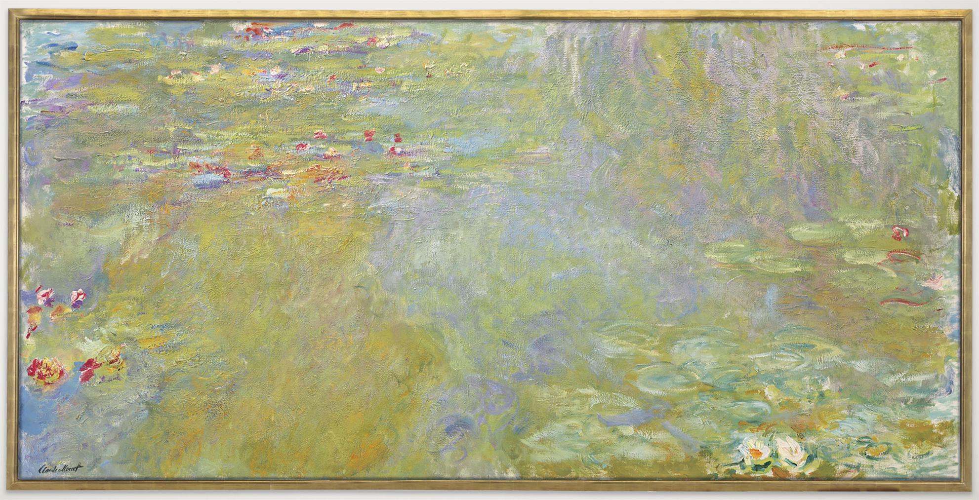 Claude Monet-Le Bassin Aux Nympheas-1919