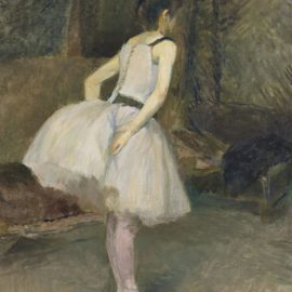 Henri de Toulouse-Lautrec-Danseuse-1888