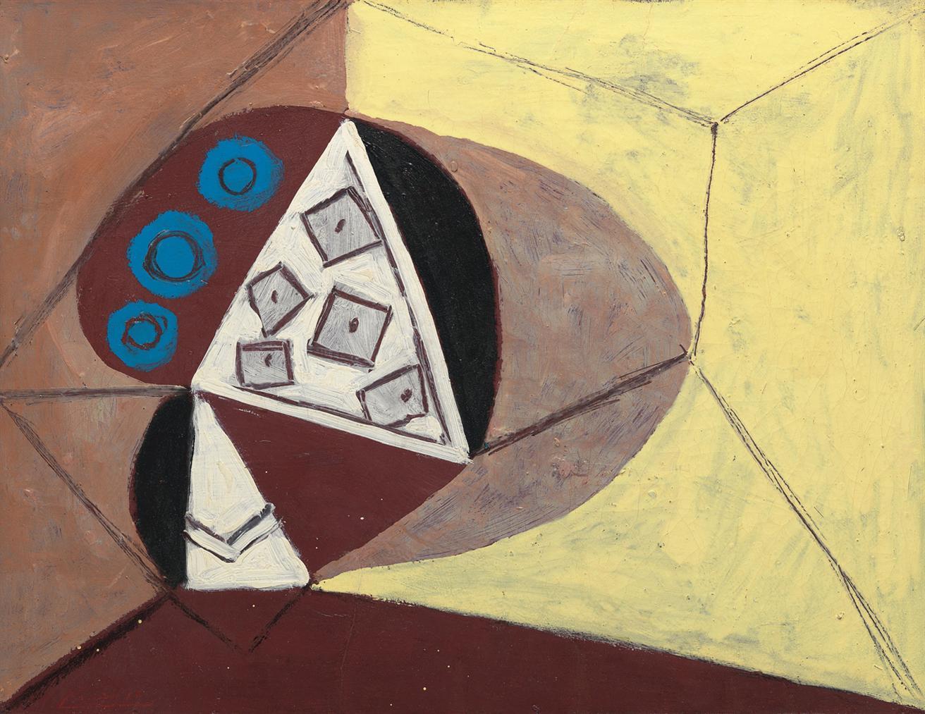 Pablo Picasso-Le Compotier-1946