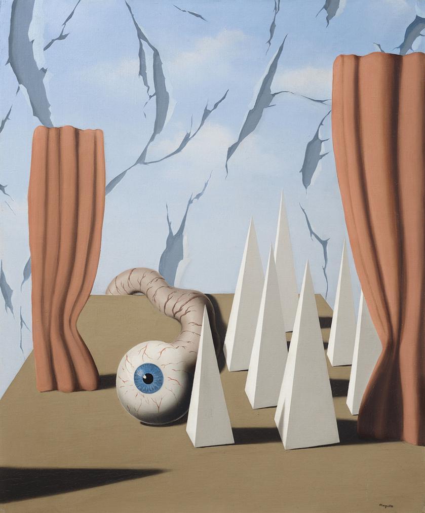Rene Magritte-Le Monde Poetique Ii-1937