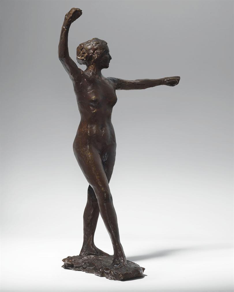 Edgar Degas-Preparation A La Danse, Pied Droit En Avant-1890