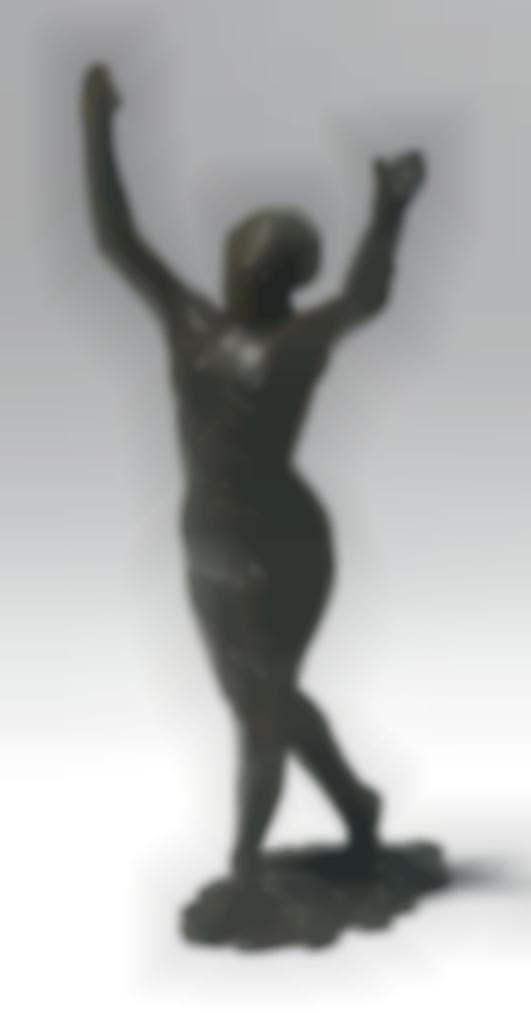 Edgar Degas-Danseuse Savancant, Les Bras Leves, Premiere Etude-1890