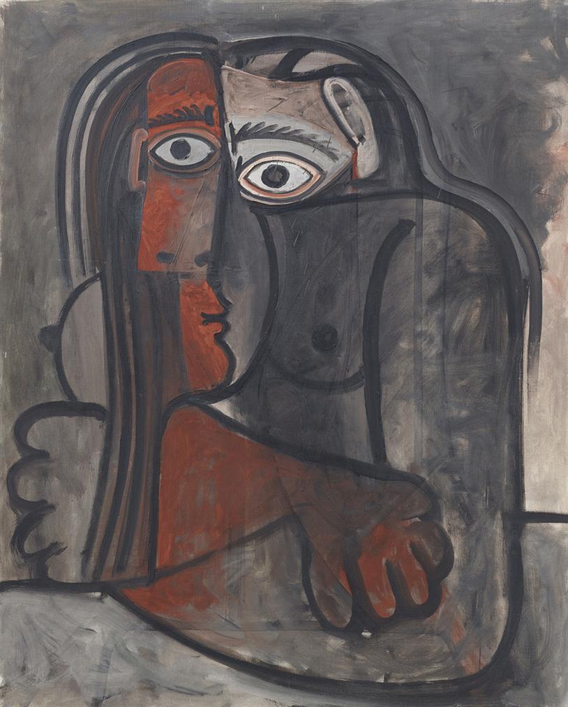 Pablo Picasso-Nu Les Bras Croises-1960
