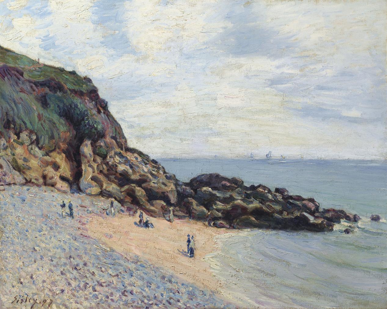 Alfred Sisley-Langland Bay-1897