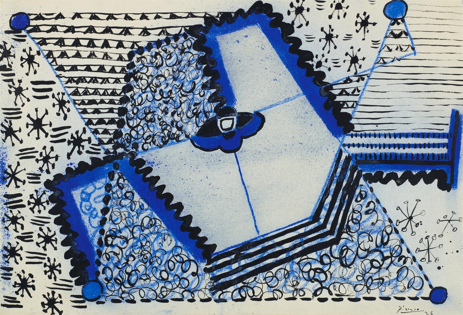 Pablo Picasso-Banjo-1926