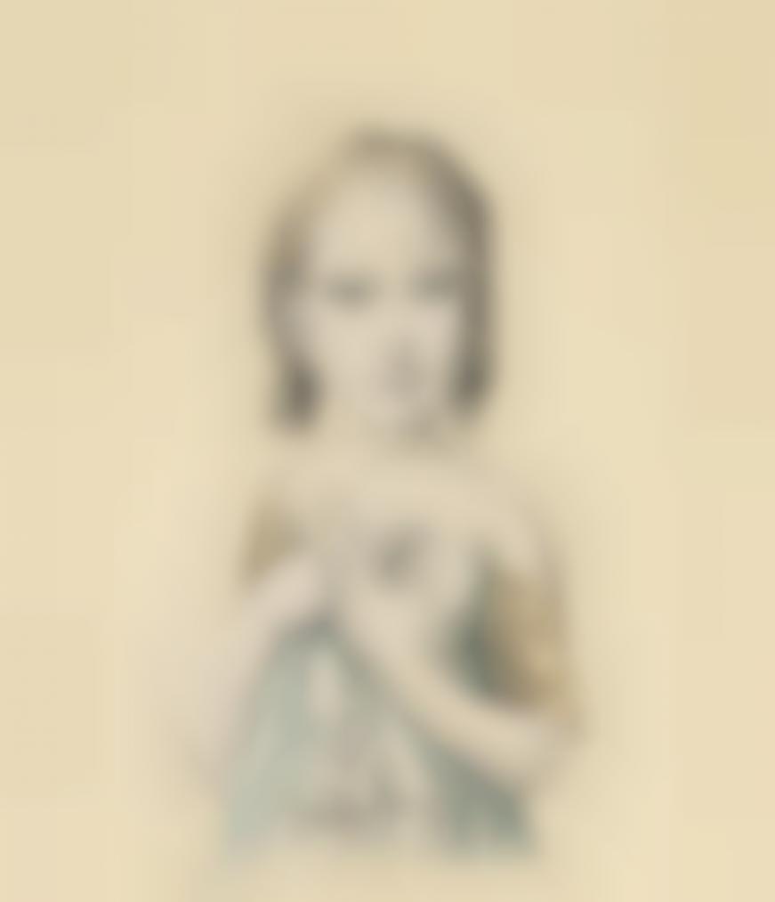 Tsuguharu Foujita-Enfant Douce-1962