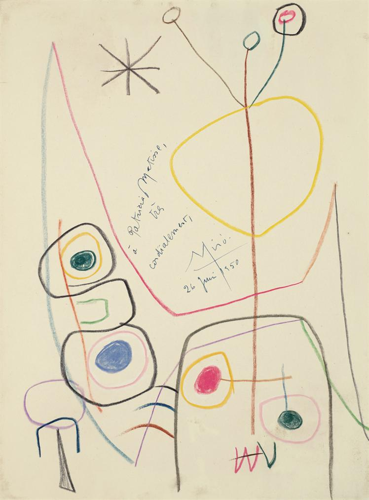 Joan Miro-Sans Titre-1950