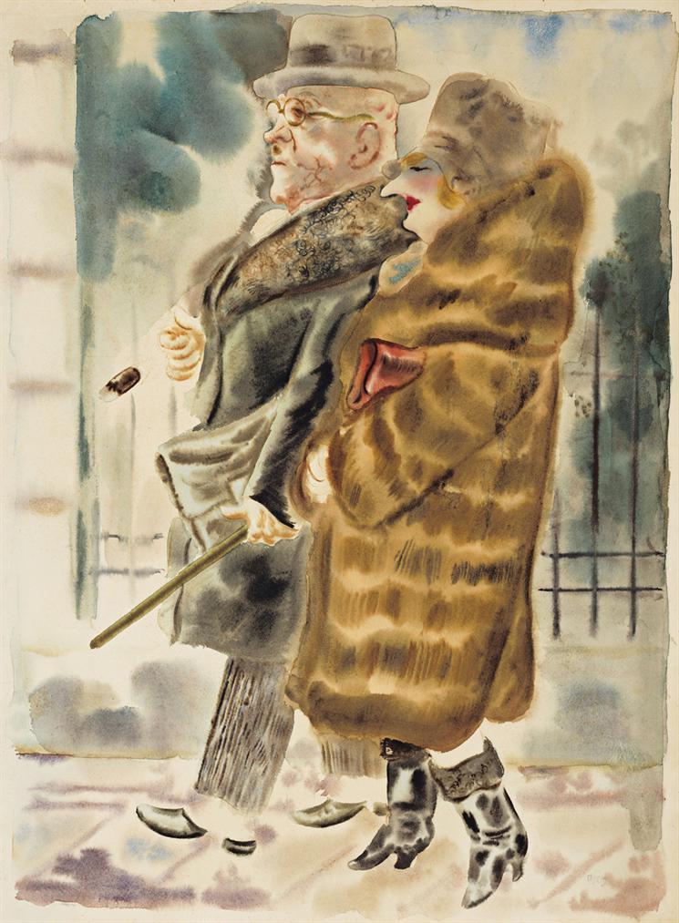 George Grosz-Ehepaar-1928