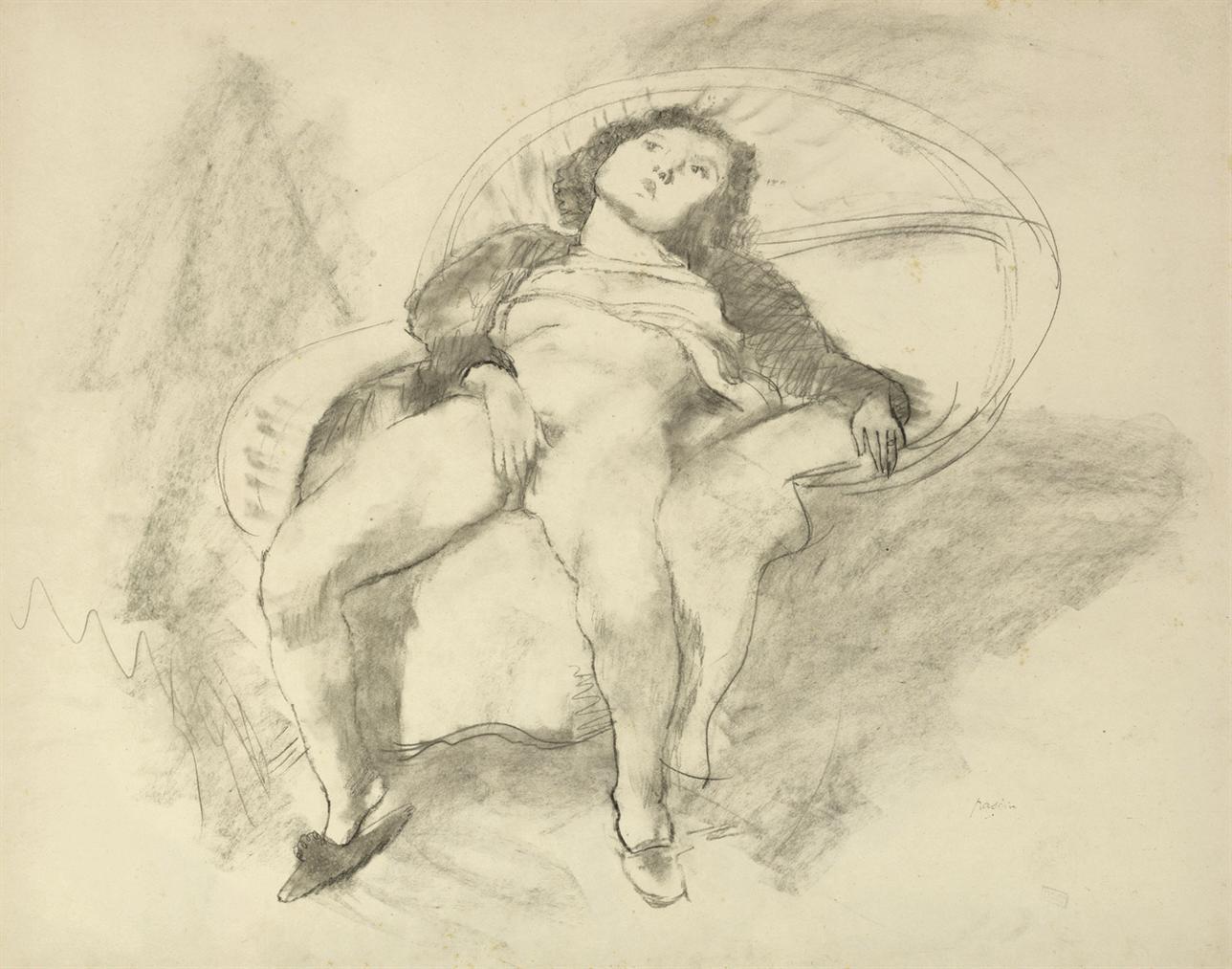 Jules Pascin-La Docile Rebecca-1929