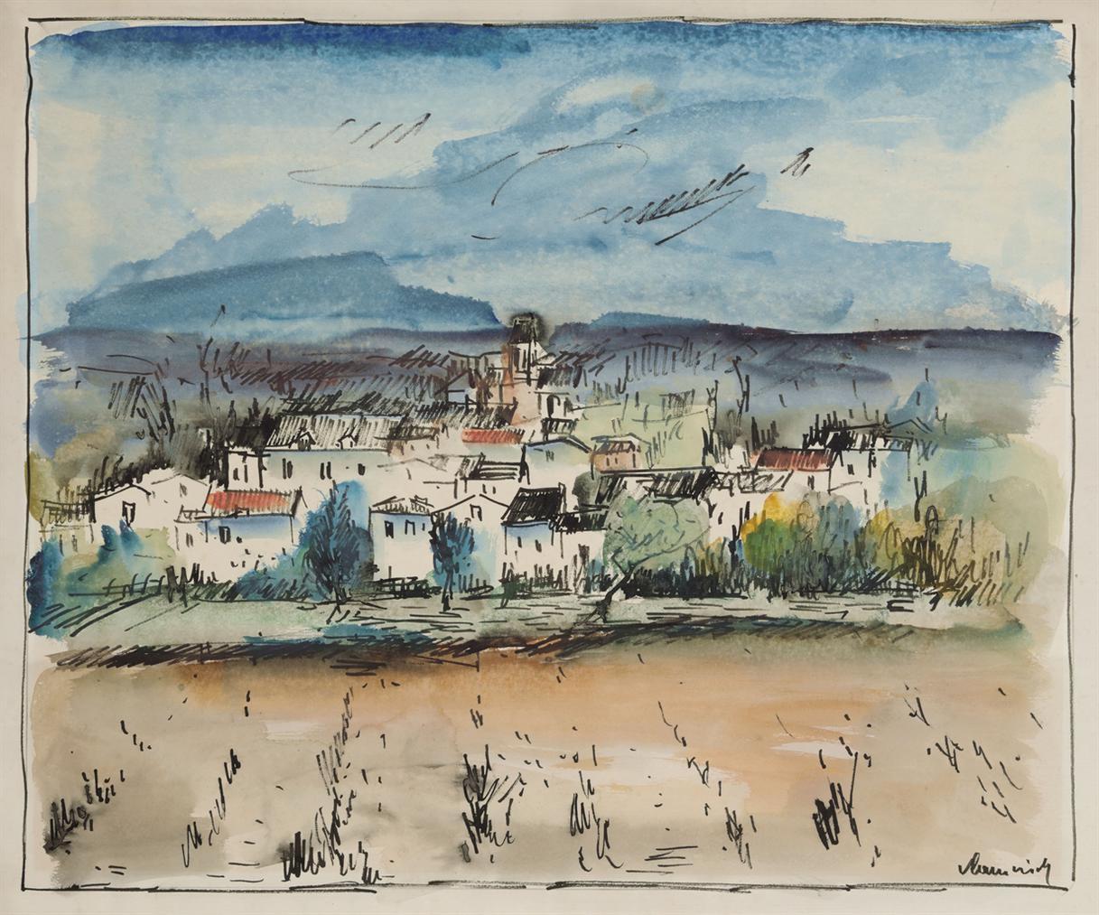 Maurice de Vlaminck-Le Village-1927