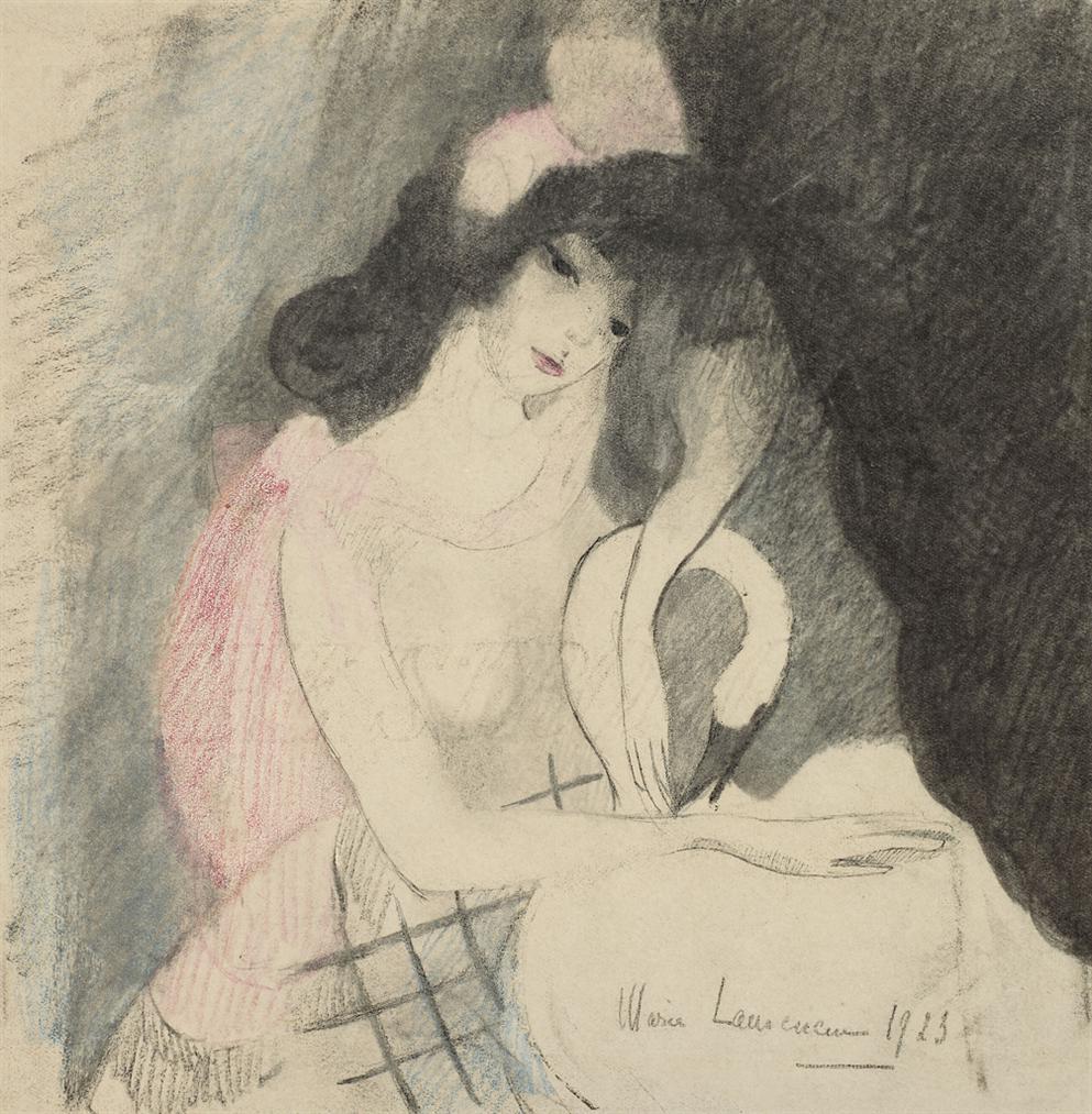Marie Laurencin-Leda-1923