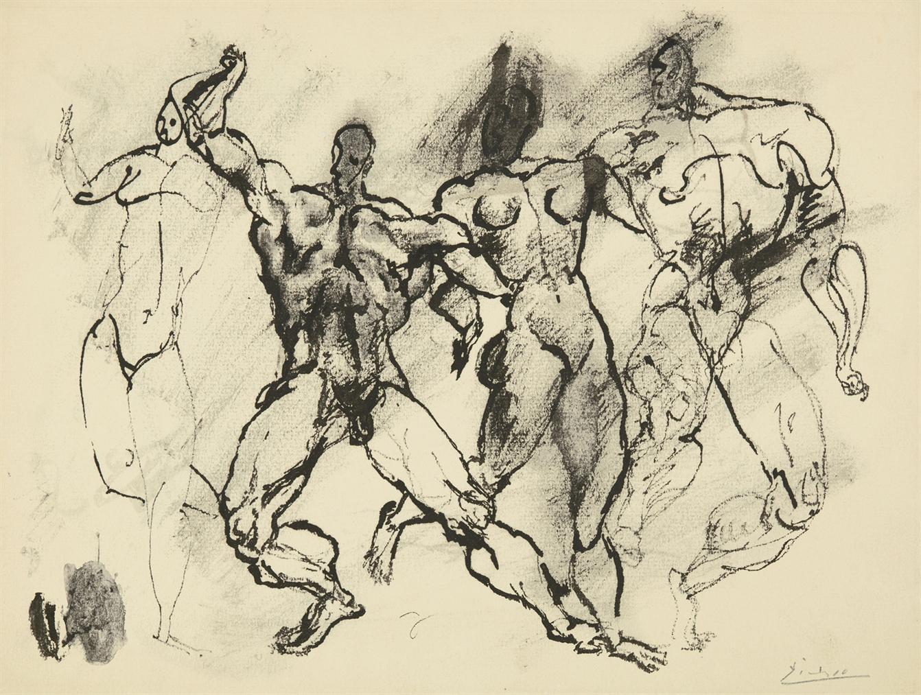 Pablo Picasso-Sans Titre-1905