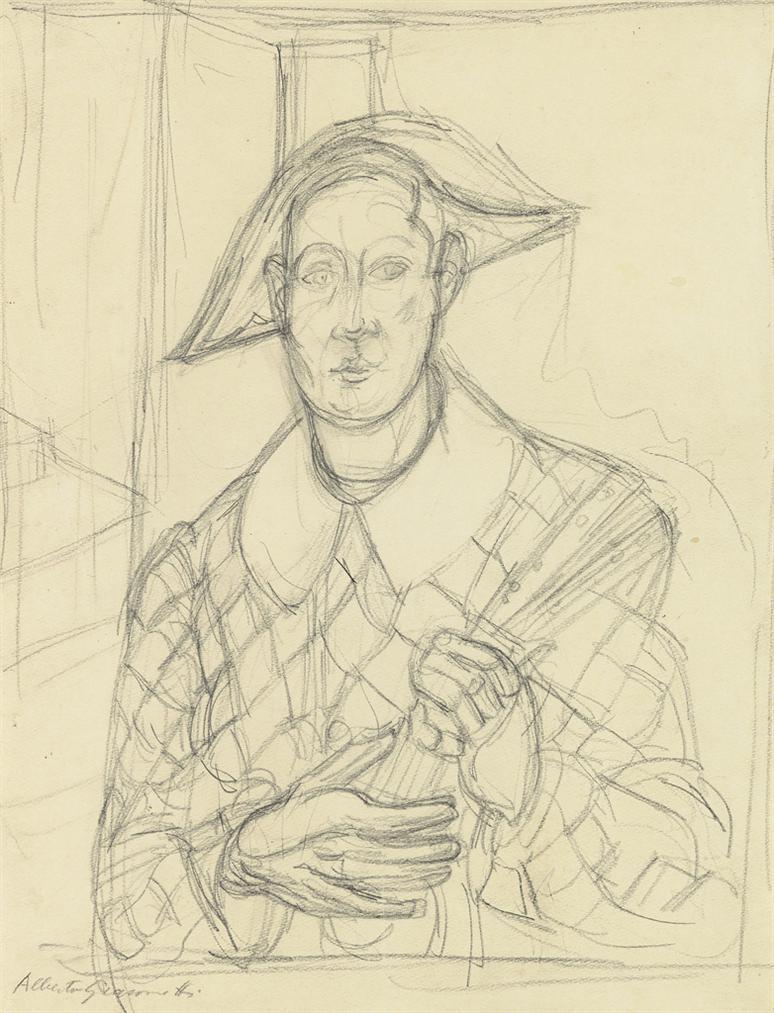Alberto Giacometti-Larlequin-1940