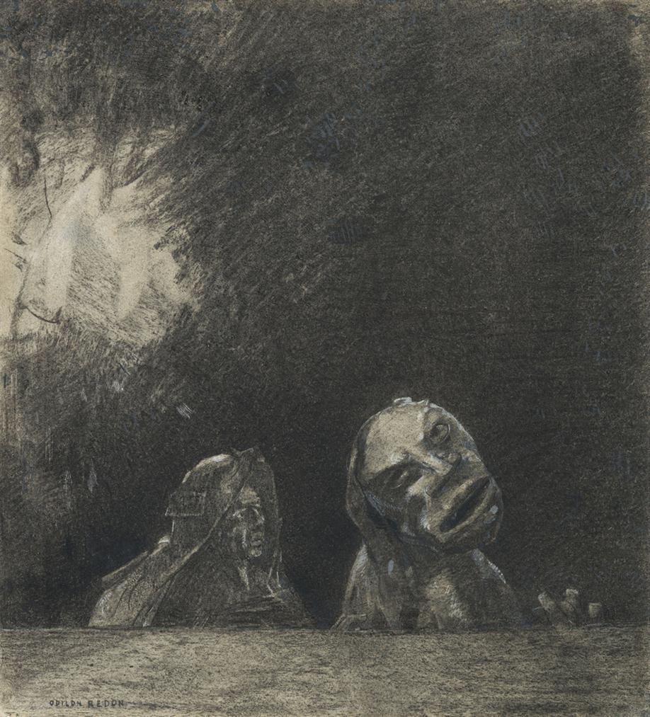 Odilon Redon-Quasimodo-1880