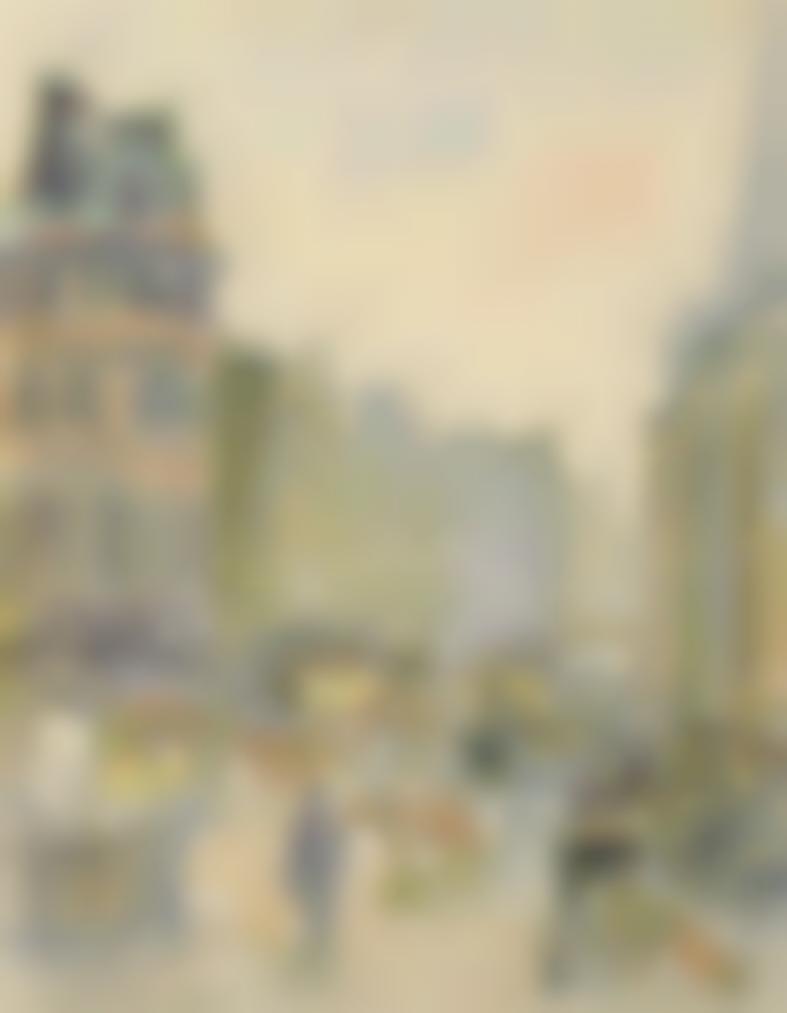 Camille Pissarro-Ludgate Hill-1890