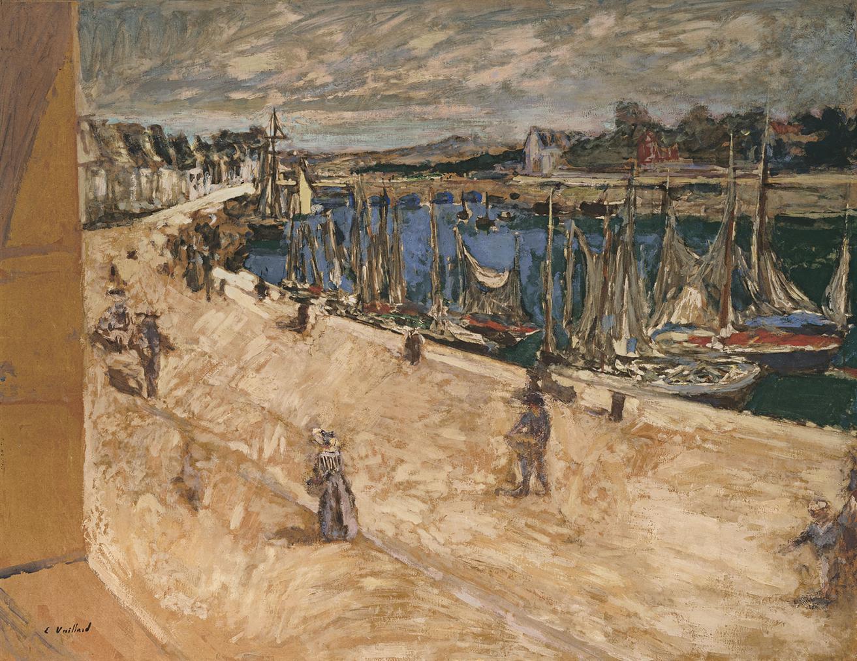 Edouard Vuillard-Le Port De Pouliguen-1927