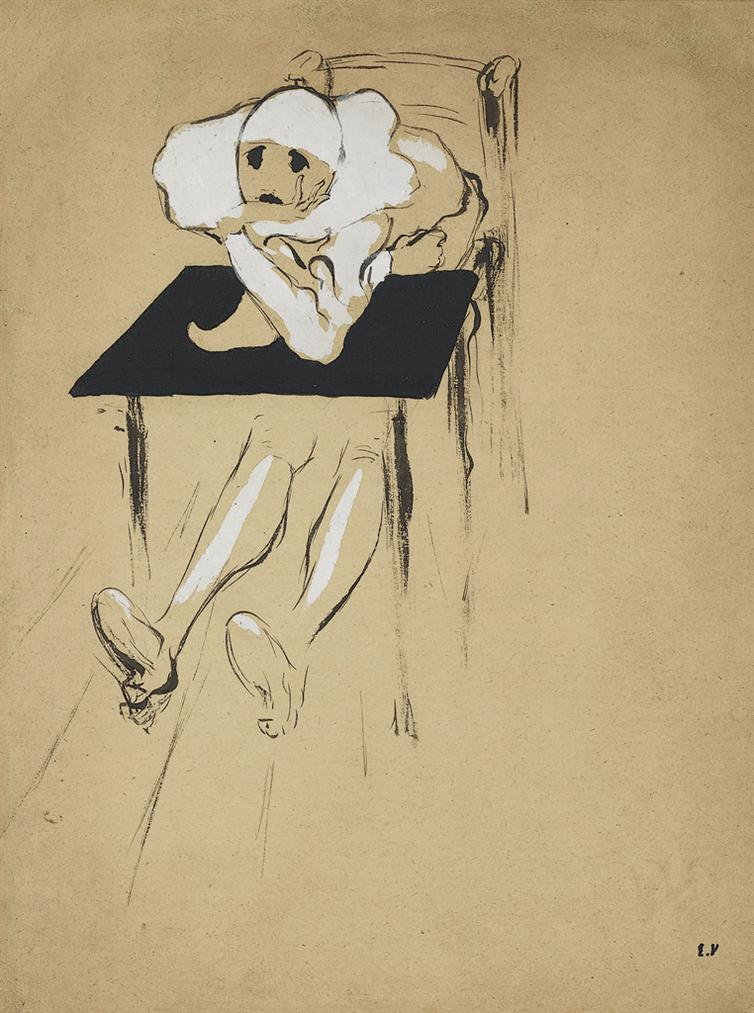 Edouard Vuillard-Pierrot-1891