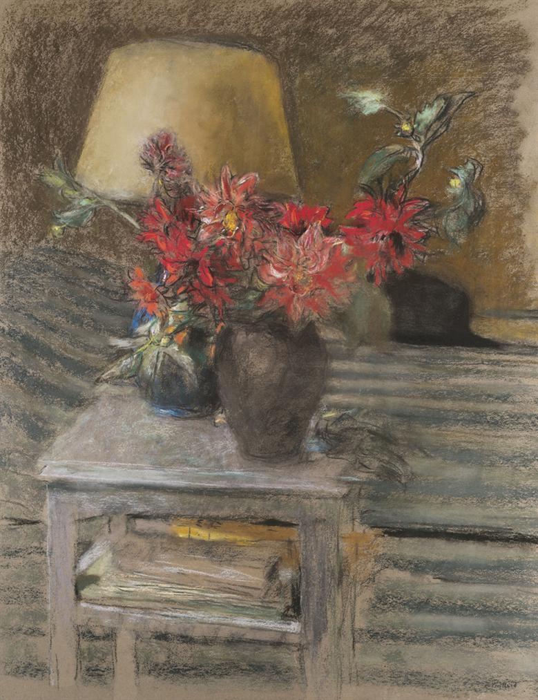 Edouard Vuillard-Fleurs Sur Une Table-1931