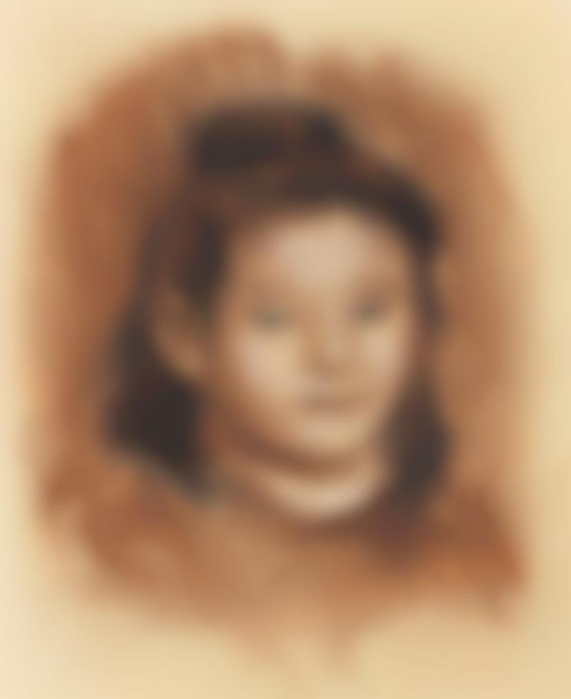 Pierre-Auguste Renoir-Tete De Jeune Fille-1900