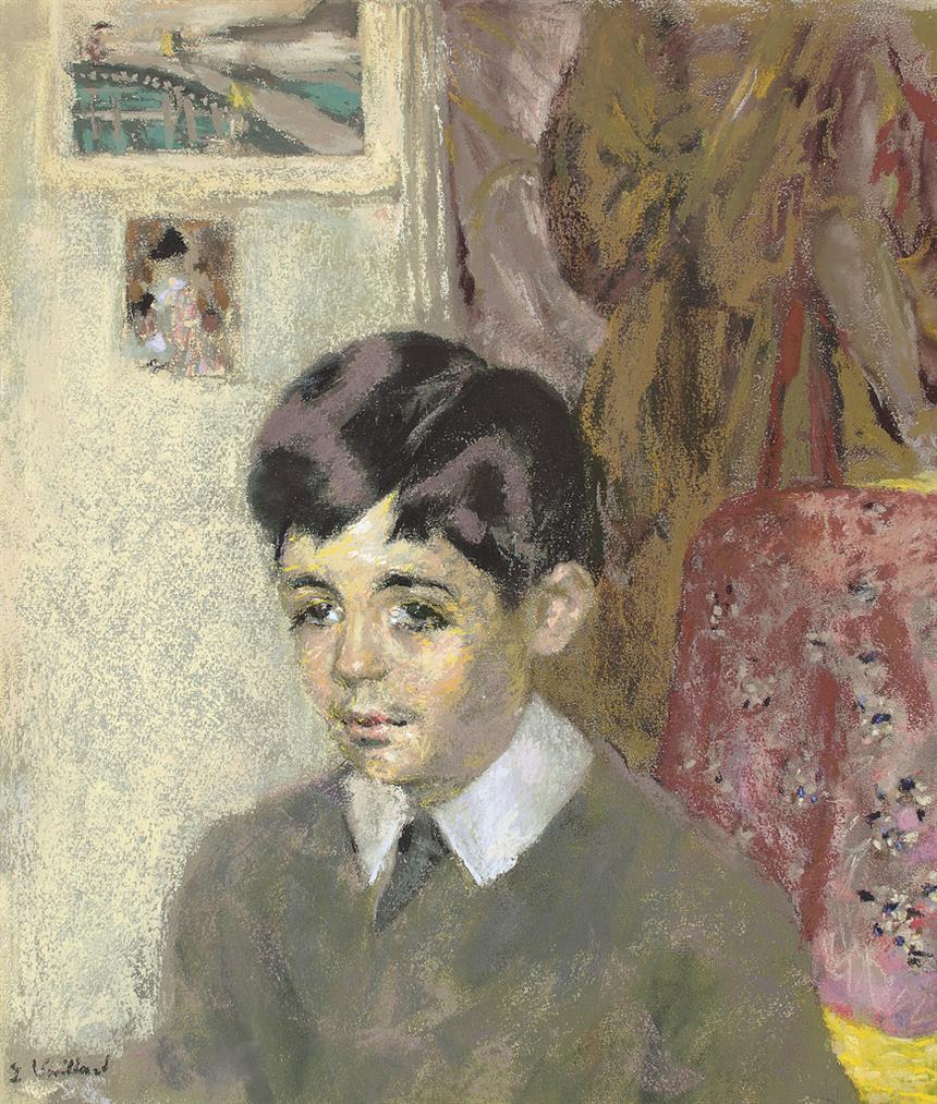Edouard Vuillard-Jacques Laroche Enfant-1917